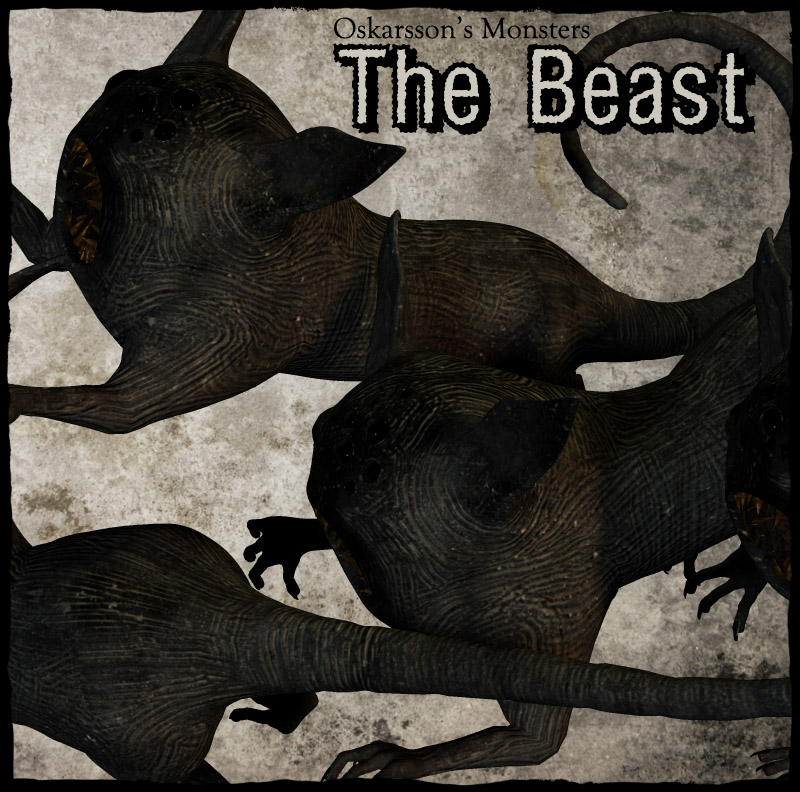 Oskarssons Monsters-The Beast
