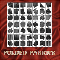 Folded Fabrics 2D And/Or Merchant Resources Atenais