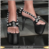 HOT Spiked Heels 3D Figure Essentials lululee