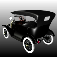 FORD T TOURING 1918 image 1