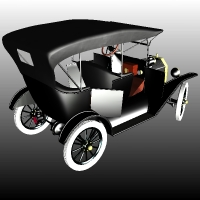 FORD T TOURING 1918 image 2