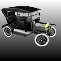 FORD T TOURING 1918 image 3