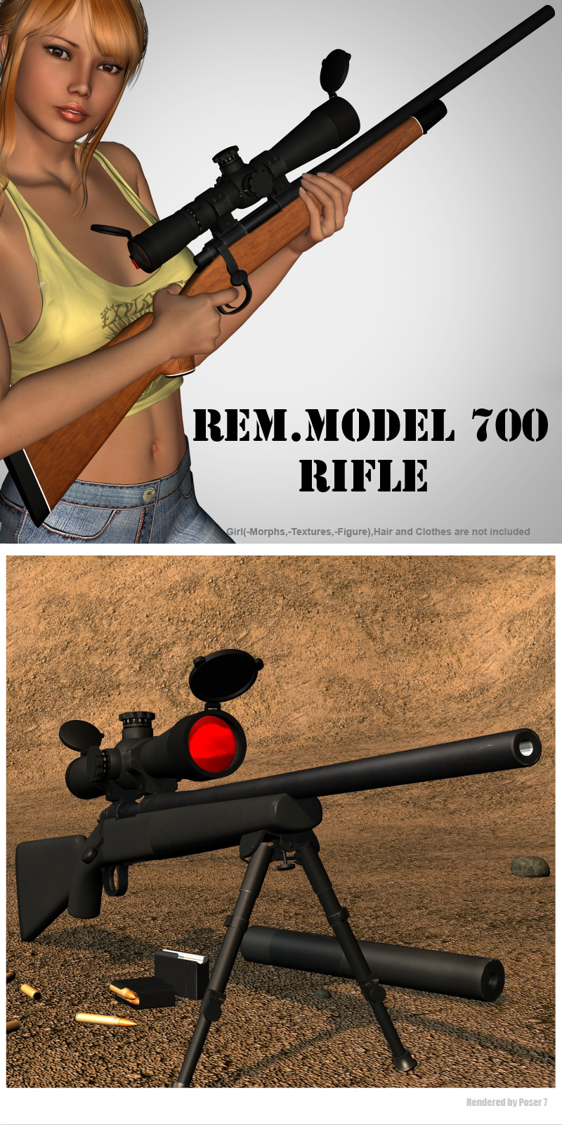 Rem.Model 700 - Rifle
