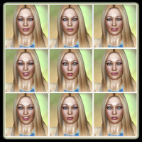 Fresh Faced Beauty: 50 Expressions For V4 image 2