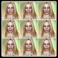 Fresh Faced Beauty: 50 Expressions For V4 image 3