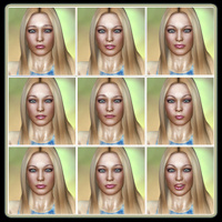 Fresh Faced Beauty: 50 Expressions For V4 image 4