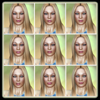 Fresh Faced Beauty: 50 Expressions For V4 image 6
