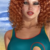 WaterFun - Frisky Swim 3D Models 3D Figure Assets nirvy
