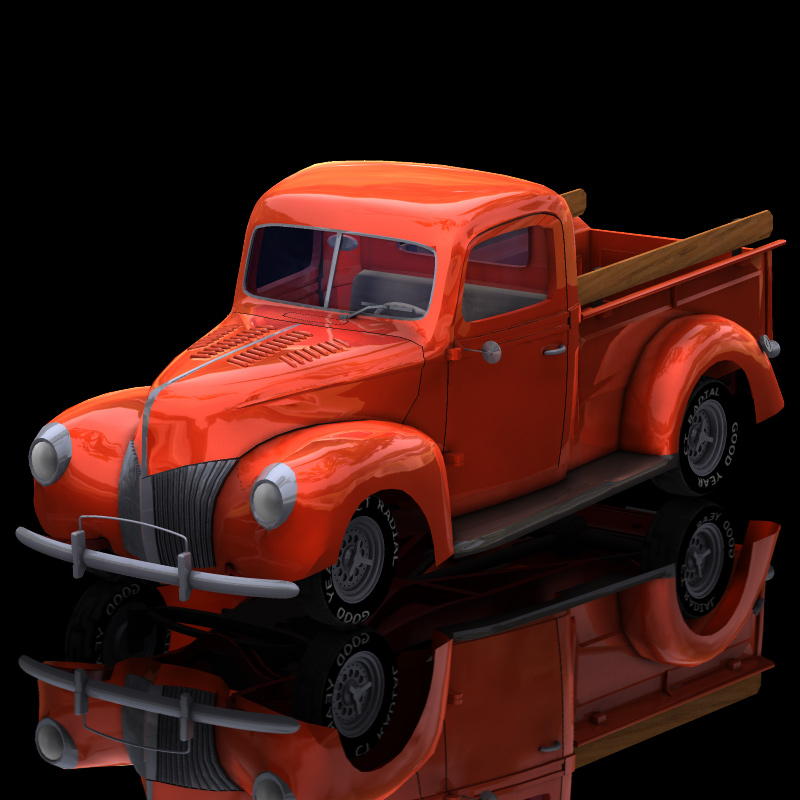 40 Ford Pickup (for Poser)