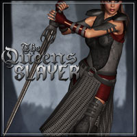The Queens Slayer 3D Models 3D Figure Essentials outoftouch