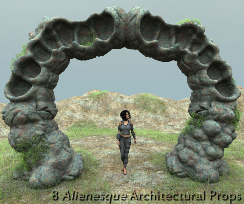 MC Alien Arches