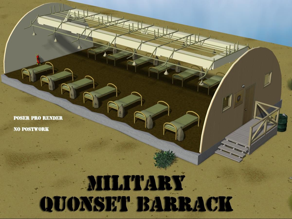Military Quonset Barrack