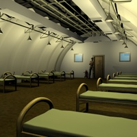 Military Quonset Barrack image 3