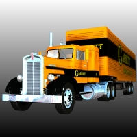 KENWORTH TRAILER TRUCK 1949 Props/Scenes/Architecture Transportation Themed Nationale7