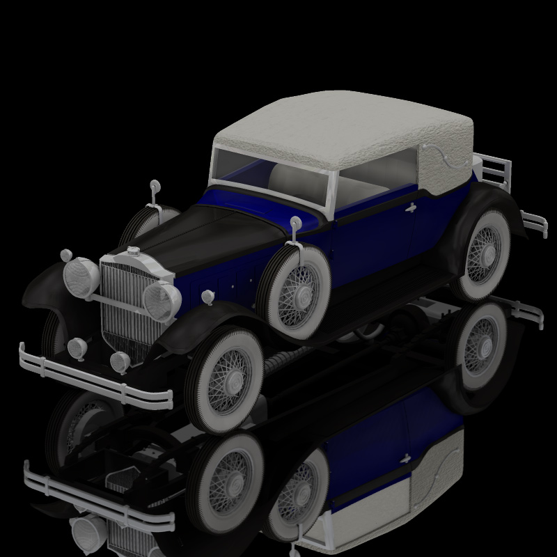 Packard Car 1930 (for Poser)