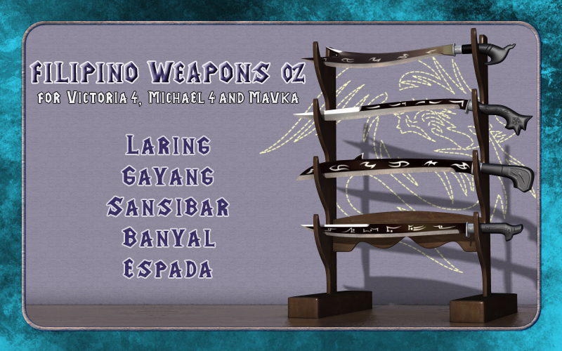 Filipino Weapons 02