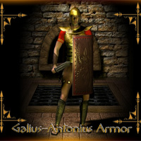 Galius-Antonius Armor 3D Models 3D Figure Assets Mike2010