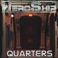 HeroShip Quarters by 3-D-C Themed Props/Scenes/Architecture 3-d-c
