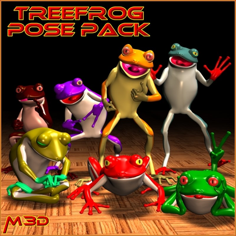 TreeFrog Pose Pack