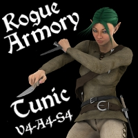 Rogue Armory Tunic V4A4S4 by SickleYield