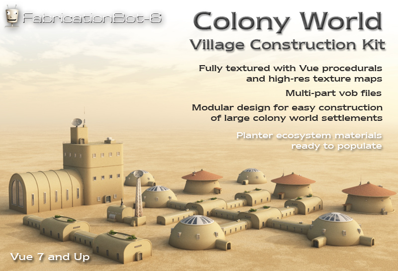 Colony World Village Kit