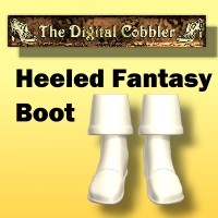 The Digital Cobbler Fantasy Boot Tutorial Tutorials Fugazi1968