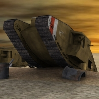 MKV Male Tank for Poser Software Transportation Themed Touchwood