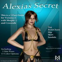 Alexias Secret 3D Figure Essentials Mike2010