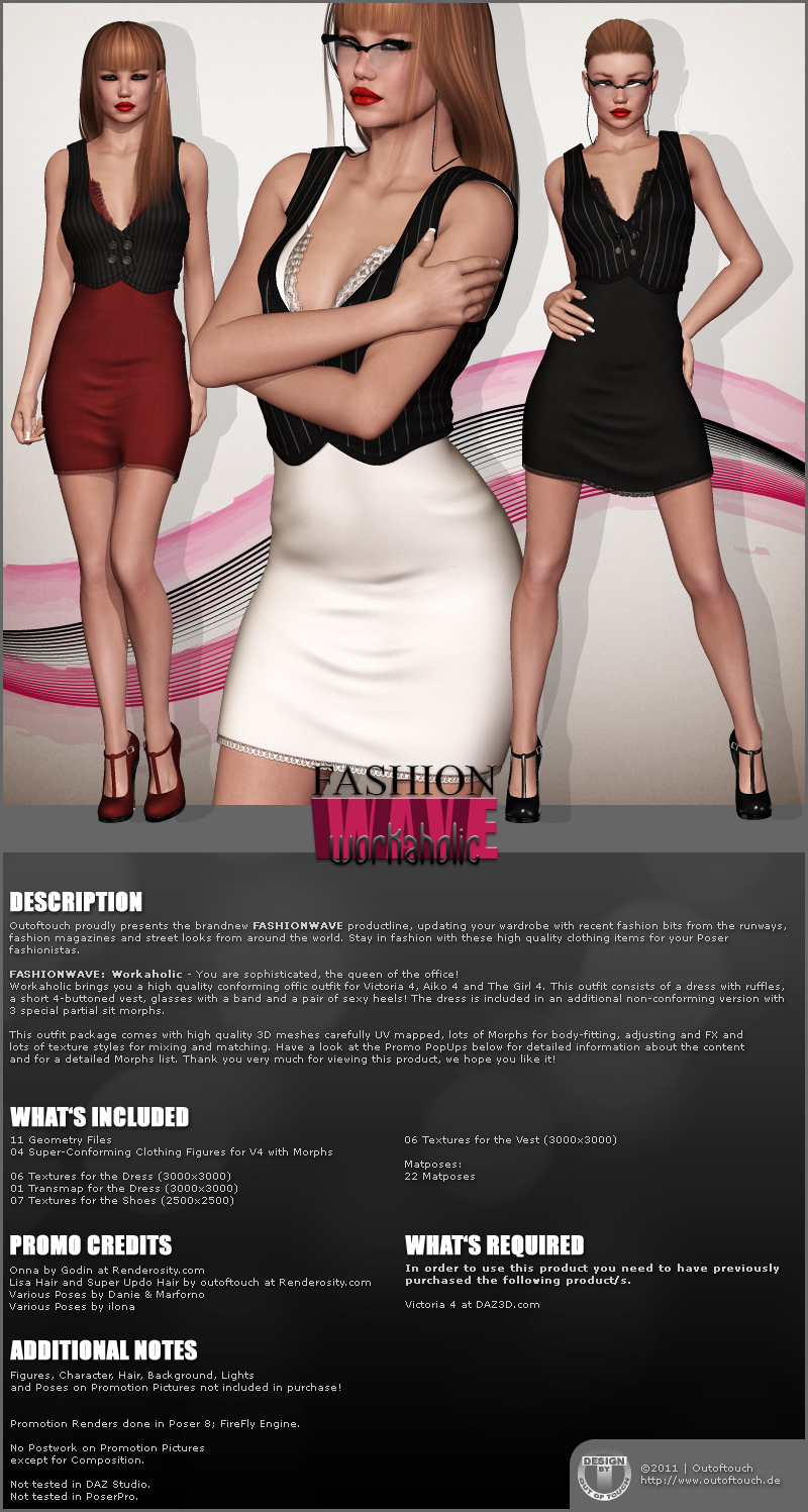 FASHIONWAVE Workaholic for V4 A4 G4