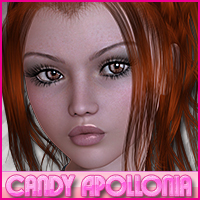 Candy Apollonia 3D Figure Essentials Sveva