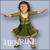 Henrike by JUEL 3D Figure Essentials anny