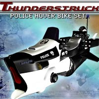 Thunderstruck, Hover Bike set Stand Alone Figures Poses/Expressions Transportation Props/Scenes/Architecture shadownet