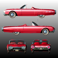Ford Thunderbird 1962 Sports Roadster image 1
