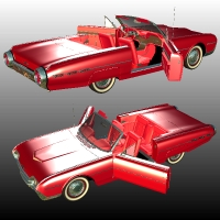 Ford Thunderbird 1962 Sports Roadster image 4