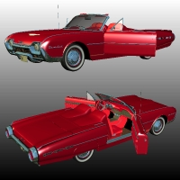 Ford Thunderbird 1962 Sports Roadster image 5