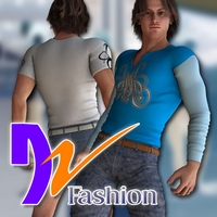 DZ M4 Fashion Set 01 3D Figure Assets dzheng