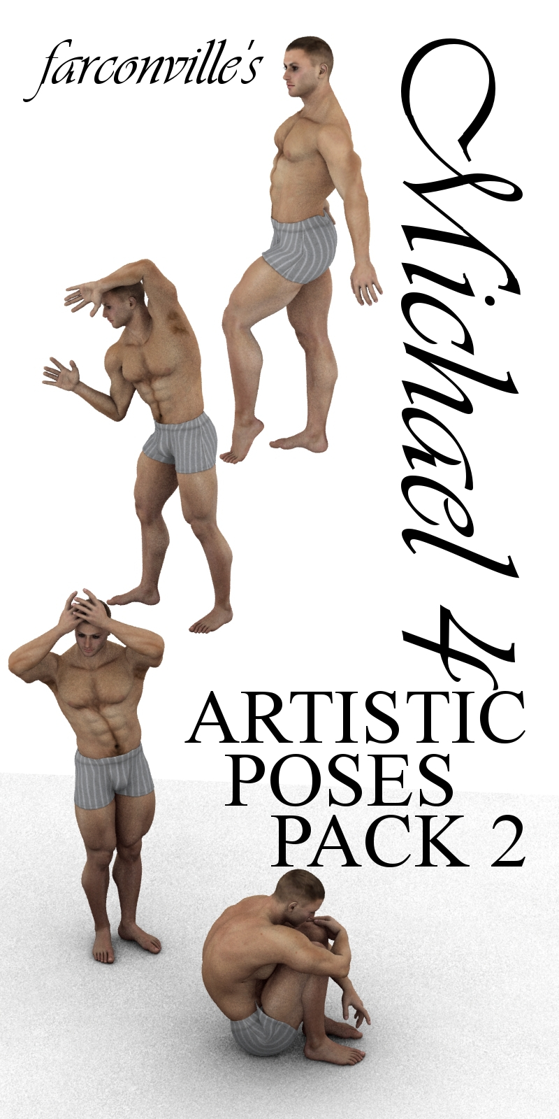 Farconville`s M4 Artistic Poses Pack 2