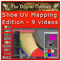 The Digital Cobbler UV Mapping Shoes Set Tutorials Fugazi1968
