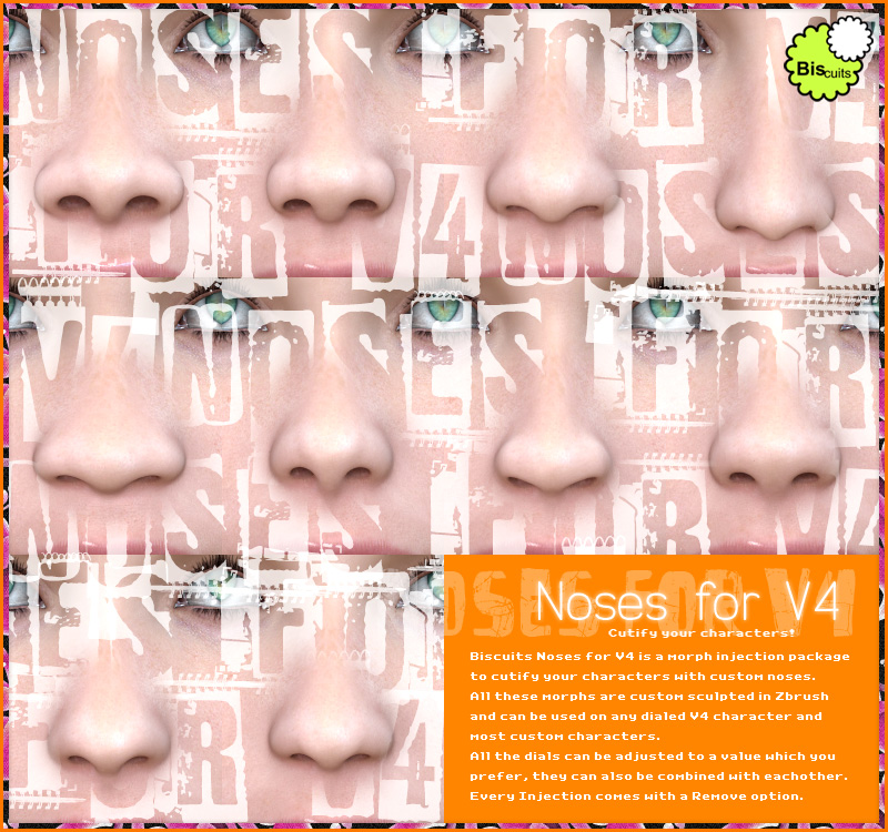 Biscuits Noses for V4