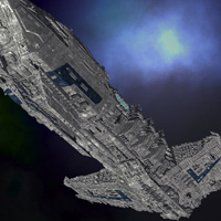 Allied Fleets Destroyer - Poser OBJ 3DS MAX image 7