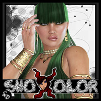 ShoXoloR for Stigian Princess Hair Hair ShoxDesign