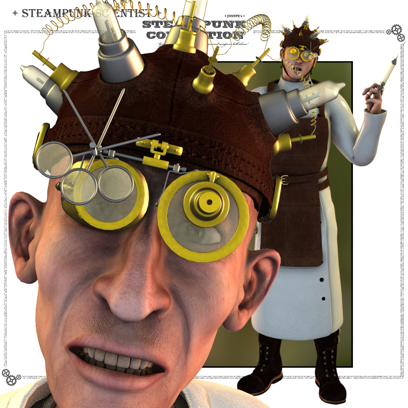 SteamPunk - Scientist