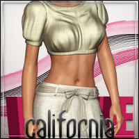 FASHIONWAVE California for V4 A4 G4 3D Figure Assets 3D Models outoftouch
