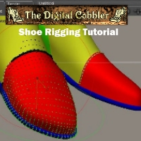The Digital Cobbler Boot Rigging Tutorial Tutorials 3D Models Fugazi1968