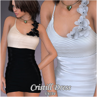 Cristill Dress V4 A4 by nikisatez