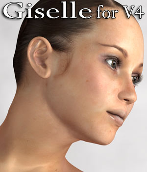 Giselle V4 character 3D Figure Essentials RPublishing