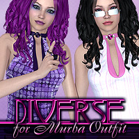DbE-Diverse for Murba Outfit  DesignsbyEve