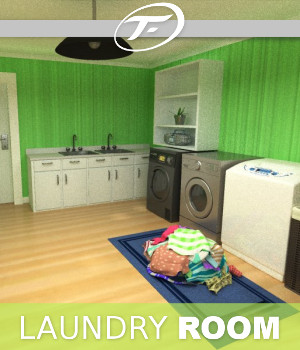 Laundry Room 3D Models TruForm