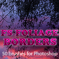 FS Foliage Borders 3D Models 2D Graphics FrozenStar