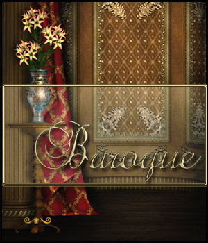 Baroque 2D Graphics 3D Models Bez